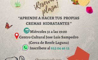 Crónica taller de cosmética natural en Lucero