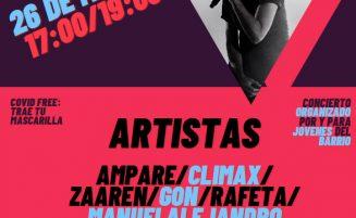 """Crónica concierto viernes       26 de marzo """"Rap Amposta"""""""